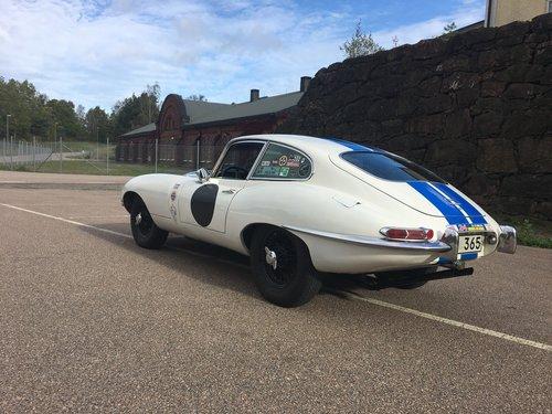 """1966 Jaguar E-Type Serie 1 3,8 """"Le mans racer"""" For Sale (picture 1 of 6)"""