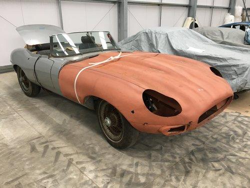 1969 Jaguar E-Type Series 2 Roadster - Restoration SOLD (picture 3 of 6)