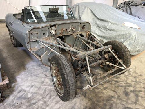 1969 Jaguar E-Type Series 2 Roadster - Restoration SOLD (picture 6 of 6)