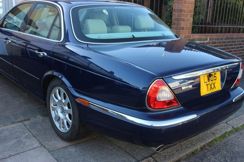 2005 JAGUAR XJ6 3.0 AUTOMATIC Petrol with Reverse Camer For Sale (picture 1 of 6)