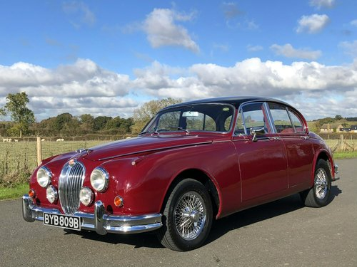 1964 Jaguar MK II 3.4 Manual / Overdrive SOLD (picture 1 of 6)