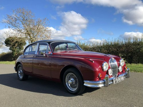1964 Jaguar MK II 3.4 Manual / Overdrive SOLD (picture 3 of 6)