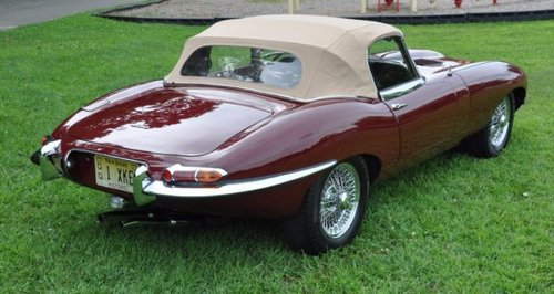 1964 Jaguar E-Type 3.8 Roadster For Sale (picture 2 of 6)