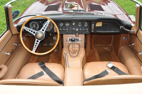 1964 Jaguar E-Type 3.8 Roadster For Sale (picture 3 of 6)