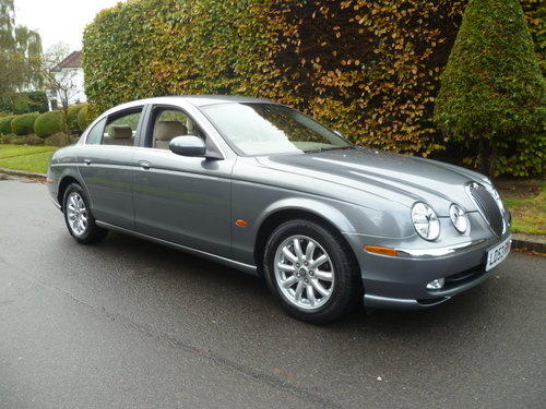 2003 JAGUAR S-TYPE 2.5 Ltr SE 35,000 miles only SOLD (picture 1 of 6)