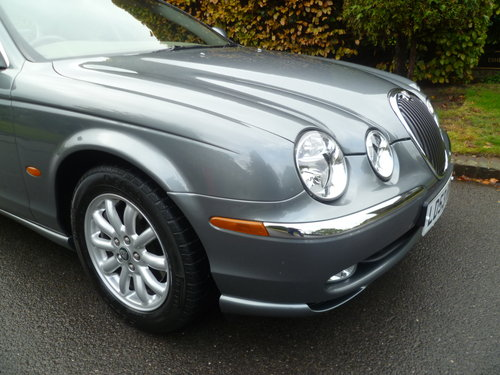2003 JAGUAR S-TYPE 2.5 Ltr SE 35,000 miles only SOLD (picture 2 of 6)
