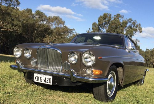 1969 Jaguar 420G Australian delivered RHD For Sale (picture 1 of 6)