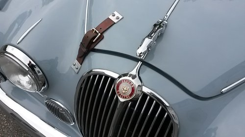 Jaguar Mk2 3,8 1961 SOLD (picture 5 of 6)