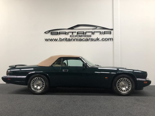 1994 Jaguar XJS Convertible 6.0 V12 For Sale (picture 4 of 6)