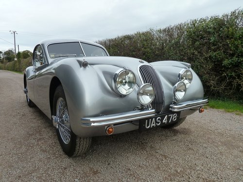 XK120 FHC 1953  For Sale (picture 1 of 6)