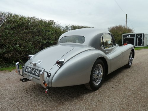 XK120 FHC 1953  For Sale (picture 5 of 6)