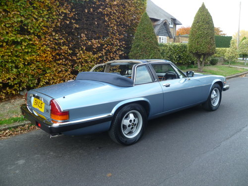 1987 JAGUAR XJ-SC 3.6 Ltr CABRIOLET AUTOMATIC 38,000 miles only SOLD (picture 3 of 6)