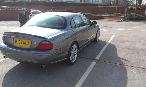 2002 Jaguar S Type R 4.2 V8 Supercharged (Very Rare) For Sale (picture 2 of 6)
