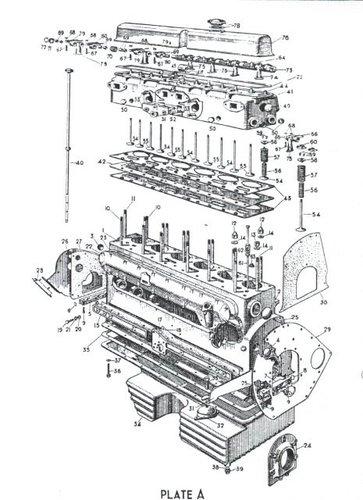 1949 JAGUAR MK V BUMPER and RARE HEAD  For Sale (picture 3 of 3)