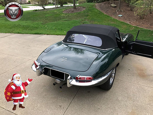 BRG.LHD  E TYPE JAGUAR 1/2 Serie 1968 ROADSTER !  For Sale (picture 3 of 6)