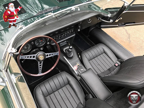 BRG.LHD  E TYPE JAGUAR 1/2 Serie 1968 ROADSTER !  For Sale (picture 4 of 6)