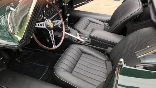 BRG.LHD  E TYPE JAGUAR 1/2 Serie 1968 ROADSTER !  For Sale (picture 5 of 6)