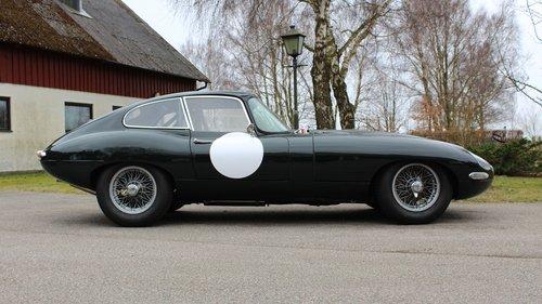 Jaguar E-type Coupé flat floor 1961 SOLD (picture 1 of 6)