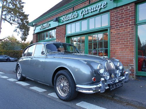 1965 Jaguar MKII 3.8 Manual  For Sale (picture 2 of 5)