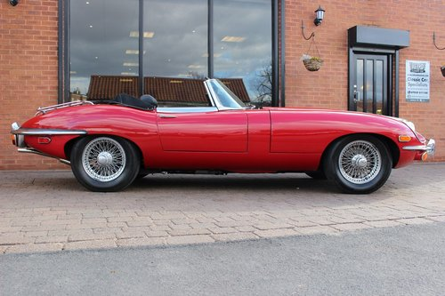 1969 Jaguar E-Type 4.2 Series ll Roadster SOLD (picture 3 of 6)