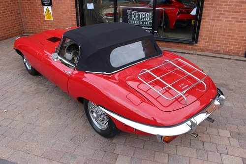 1969 Jaguar E-Type 4.2 Series ll Roadster SOLD (picture 5 of 6)