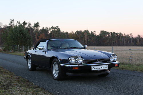 1989 A well travelled XJS with interesting and full history. SOLD (picture 3 of 6)