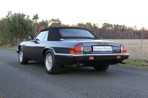 1989 A well travelled XJS with interesting and full history. SOLD (picture 4 of 6)