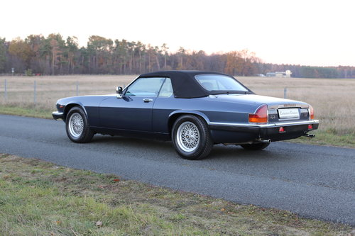 1989 A well travelled XJS with interesting and full history. SOLD (picture 5 of 6)