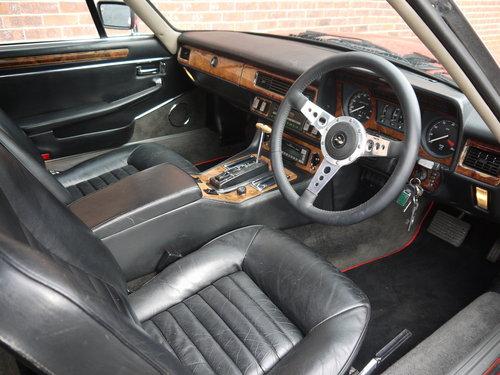 1985 JAGUAR XJS V12 5.3 SC CABRIOLET - SUPERB VALUE!! SOLD (picture 5 of 6)