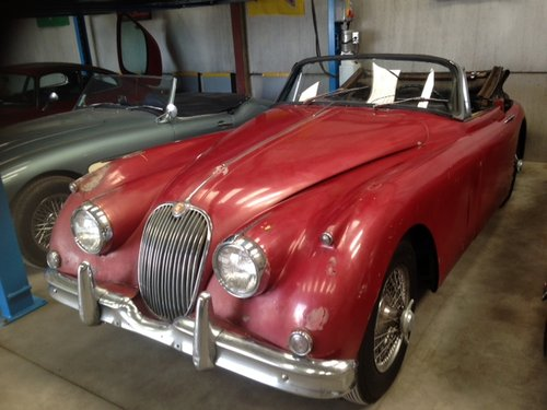 1959 Jaguar XK150 DHC 3.4L For Sale (picture 1 of 6)