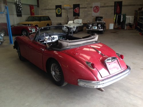 1959 Jaguar XK150 DHC 3.4L For Sale (picture 6 of 6)