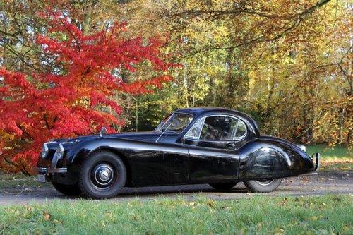 Jaguar XK 120 FHC - LHD  - 1952 For Sale (picture 1 of 6)