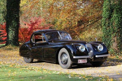 Jaguar XK 120 FHC - LHD  - 1952 For Sale (picture 2 of 6)