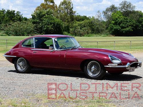 1966 Jaguar E-Type Series 1 4.2 Litre 2+2. For Sale (picture 1 of 6)