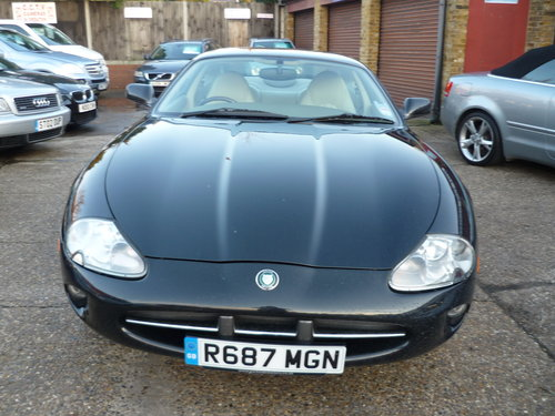 1998 JAGUAR XK8 COUPE 4 0 V8 ( VERY LOW MILEAGE ) SOLD | Car