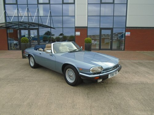 1989 Jaguar XJS V12 Convertible For Sale (picture 1 of 6)
