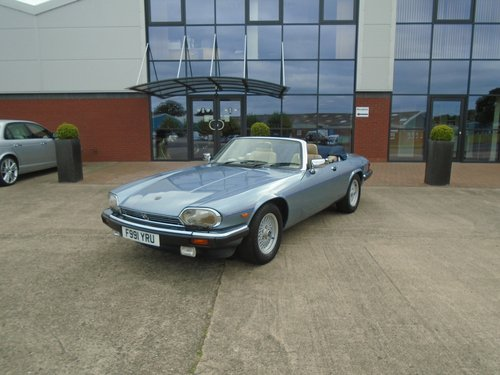 1989 Jaguar XJS V12 Convertible For Sale (picture 5 of 6)
