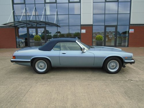 1989 Jaguar XJS V12 Convertible For Sale (picture 6 of 6)