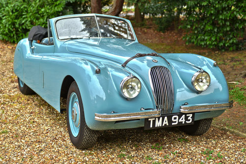 1953 Jaguar XK120 DHC RHD For Sale (picture 1 of 6)
