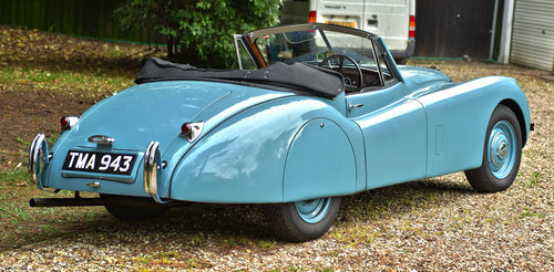 1953 Jaguar XK120 DHC RHD For Sale (picture 2 of 6)