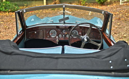 1953 Jaguar XK120 DHC RHD For Sale (picture 4 of 6)