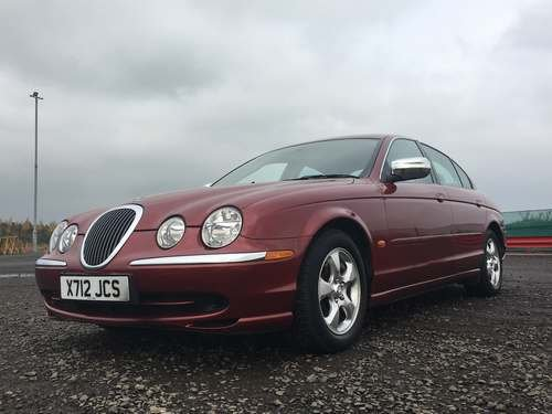 2000 Jaguar S-Type V6 Auto at Morris Leslie Auction 25th May For Sale by Auction (picture 1 of 6)
