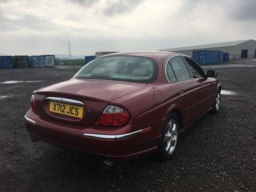 2000 Jaguar S-Type V6 Auto at Morris Leslie Auction 25th May For Sale by Auction (picture 2 of 6)