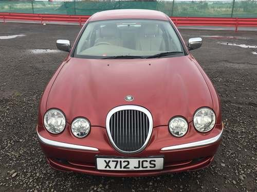 2000 Jaguar S-Type V6 Auto at Morris Leslie Auction 25th May For Sale by Auction (picture 3 of 6)