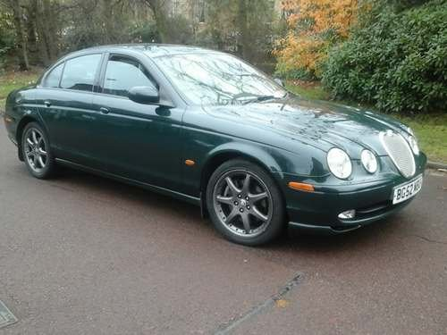 2002 Jaguar S-Type V6 Sport at Morris Leslie Auction 25th May For Sale by Auction (picture 1 of 6)