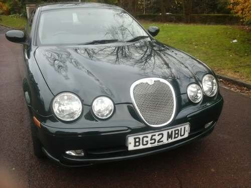 2002 Jaguar S-Type V6 Sport at Morris Leslie Auction 25th May For Sale by Auction (picture 2 of 6)