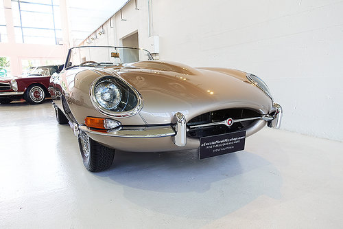 1967 One of the best restored E-Types, match. numbers, stunning For Sale (picture 1 of 6)