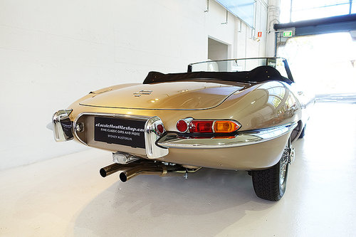 1967 One of the best restored E-Types, match. numbers, stunning For Sale (picture 2 of 6)
