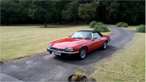 1989 XJS v12 convertible 2 plus 2 For Sale (picture 1 of 4)