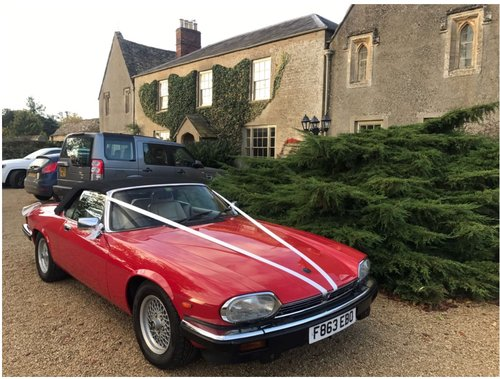 1989 XJS v12 convertible 2 plus 2 For Sale (picture 2 of 4)